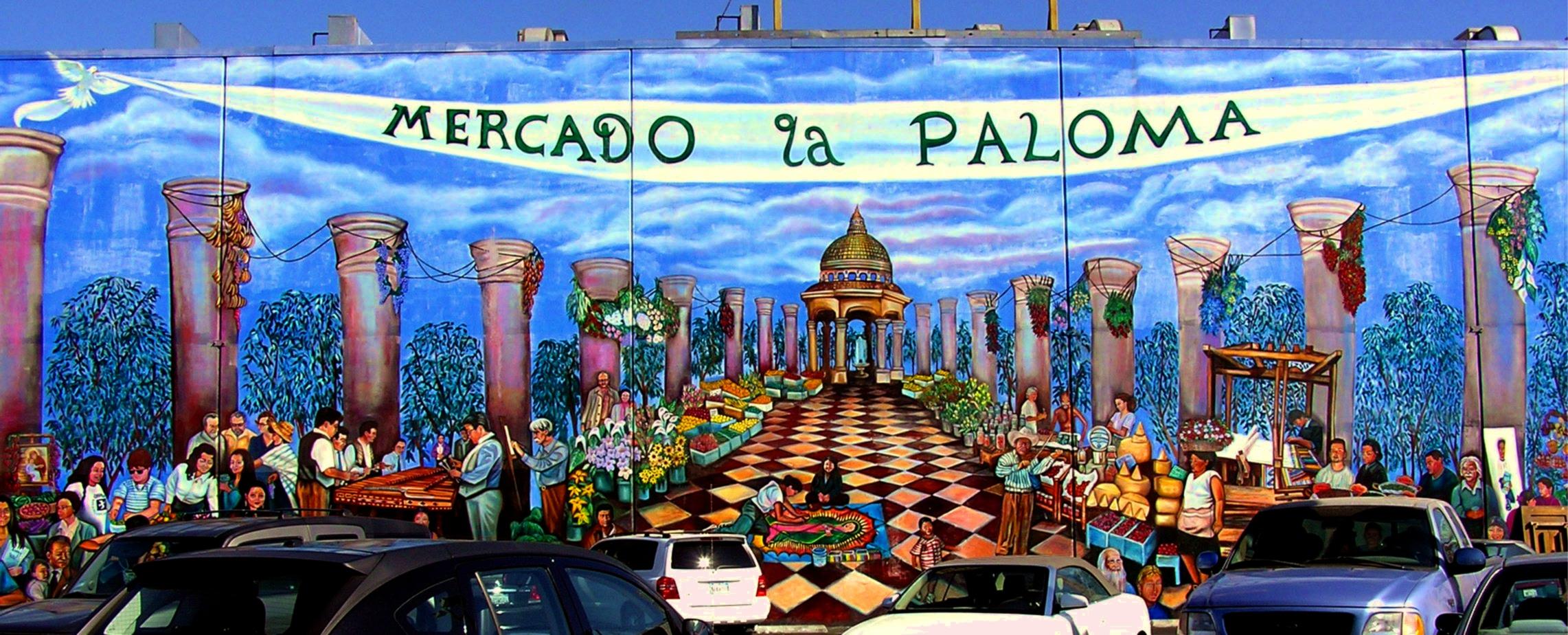 Thank you gerry valido esperanza community housing 39 s weblog for Thank you mural